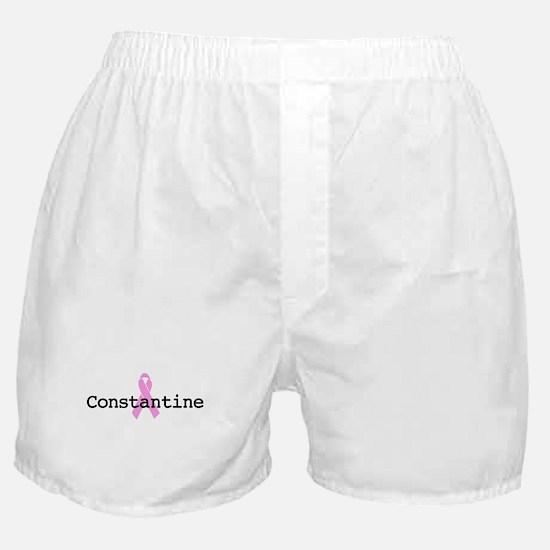 BC Awareness: Constantine Boxer Shorts