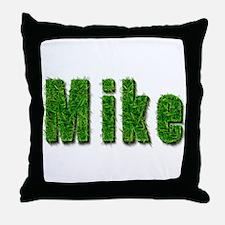 Mike Grass Throw Pillow