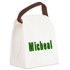Micheal Grass Canvas Lunch Bag