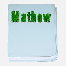 Mathew Grass baby blanket
