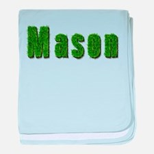 Mason Grass baby blanket