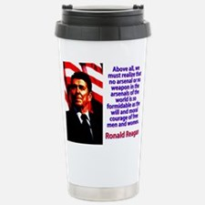 Above All We Must Realize - Ronald Reagan Mugs