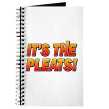 ITS THE PLEATS! Journal