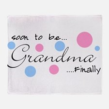Cute Grandparents Throw Blanket