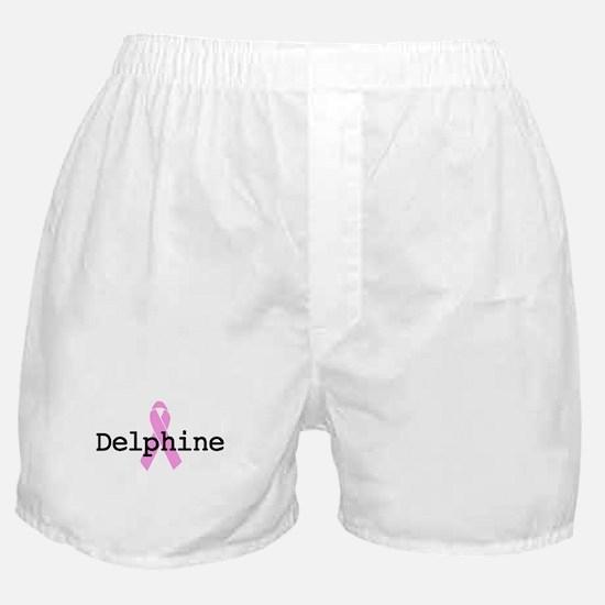 BC Awareness: Delphine Boxer Shorts
