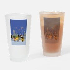 New Year Bliss Drinking Glass