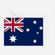 Australia Flag Greeting Cards (Pk of 20)