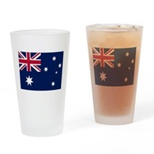 Australia Flag Drinking Glass