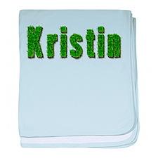 Kristin Grass baby blanket