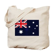 Australian Grunge Tote Bag