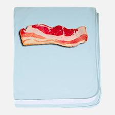 Bacon is good baby blanket
