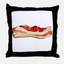 Bacon is good Throw Pillow
