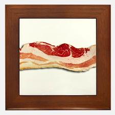 Bacon is good Framed Tile
