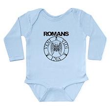 Romans Long Sleeve Infant Bodysuit
