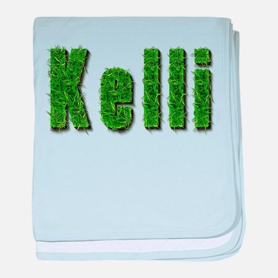 Kelli Grass baby blanket
