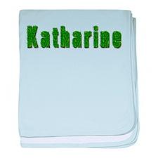 Katharine Grass baby blanket