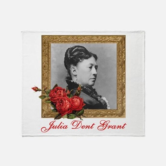 Julia Dent Grant Throw Blanket