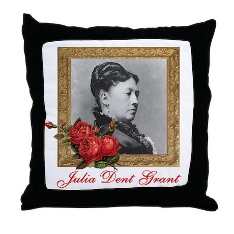 Julia Dent Grant Throw Pillow