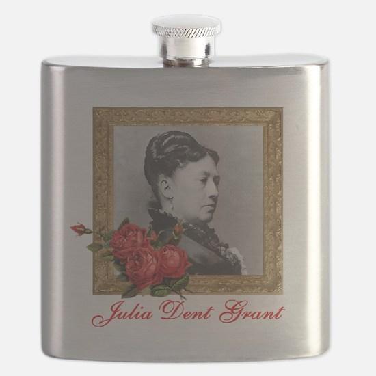 Julia Dent Grant Flask