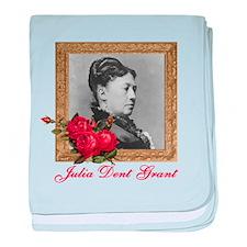 Julia Dent Grant baby blanket