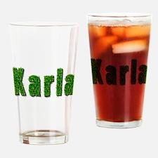 Karla Grass Drinking Glass