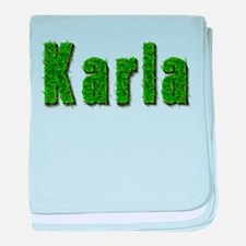 Karla Grass baby blanket