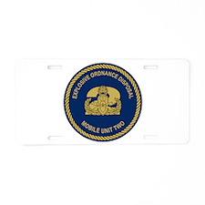 EOD Mobile Unit 2 Aluminum License Plate