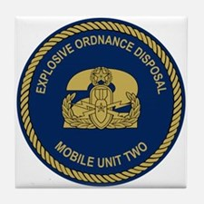 EOD Mobile Unit 2 Tile Coaster