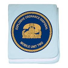 EOD Mobile Unit 2 baby blanket