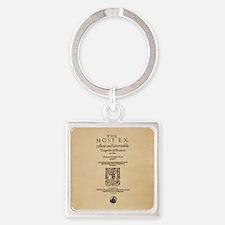 Romeo & Juliet Quarto (1599) Square Keychain