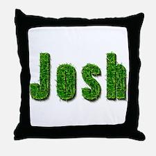 Josh Grass Throw Pillow