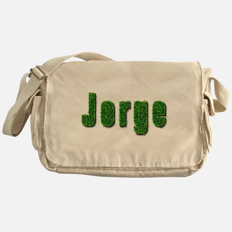 Jorge Grass Messenger Bag