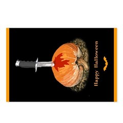 Halloween Postcards (Package of 8)