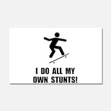 Do Skateboard Stunts Car Magnet 20 x 12