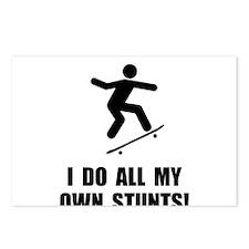 Do Skateboard Stunts Postcards (Package of 8)