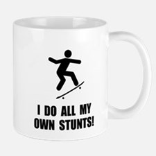 Do Skateboard Stunts Mug