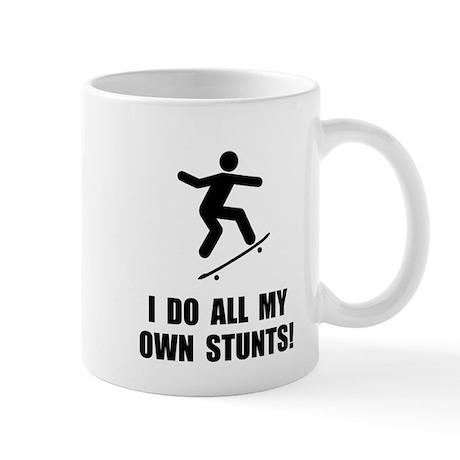 Do Skateboard Stunts Mug