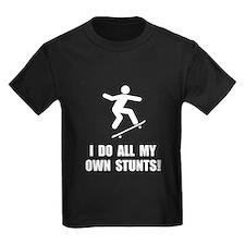 Do Skateboard Stunts T