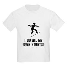 Do Skateboard Stunts T-Shirt