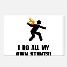 Do Fire Stunts Postcards (Package of 8)
