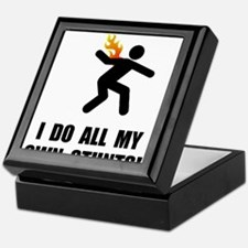 Do Fire Stunts Keepsake Box
