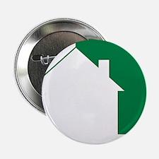 """Green Team House Icon 2.25"""" Button"""