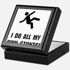Do All My Own Stunts Keepsake Box