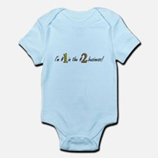 Im #1 in the #2 business! Yellow/Brown Infant Body