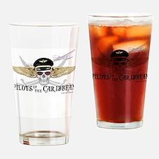 Unique Caribbean Drinking Glass