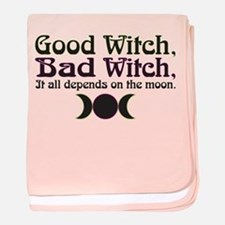Good Witch, Bad Witch... baby blanket