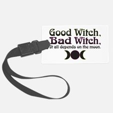 Good Witch, Bad Witch... Luggage Tag