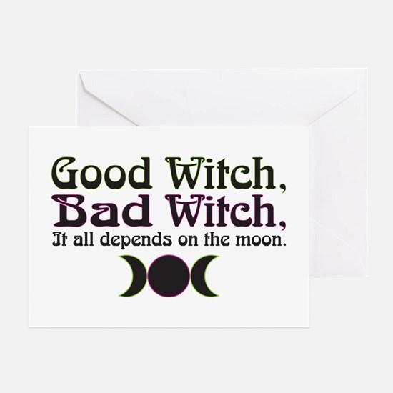 Good Witch, Bad Witch... Greeting Card