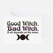 Good Witch, Bad Witch... Greeting Cards (Pk of 10)
