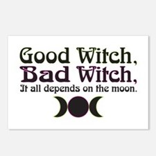 Good Witch, Bad Witch... Postcards (Package of 8)
